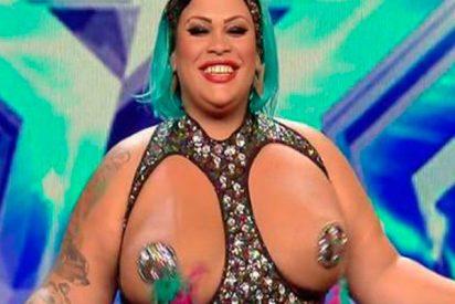 'Got Talent': La tetuda que indignó a Risto con su movimiento sexy