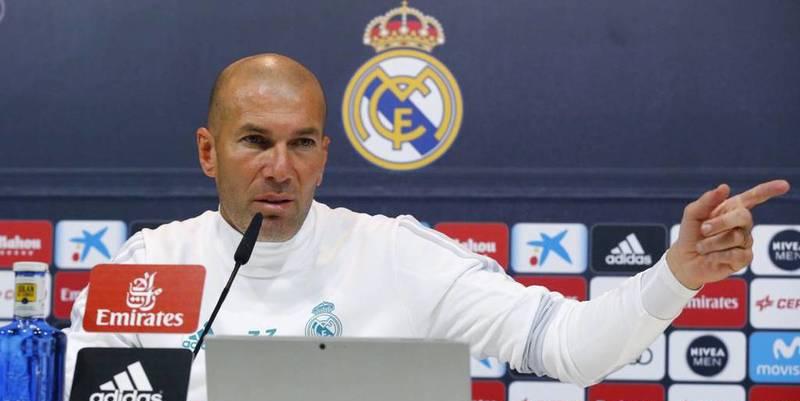 """Zinedine Zidane: """"No le estoy echando un pulso al presidente del Real Madrid..."""""""