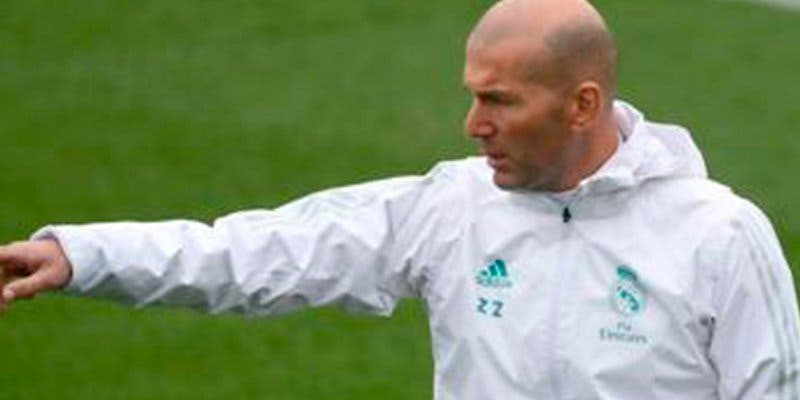 Zidane echa mierda sobre todo el equipo