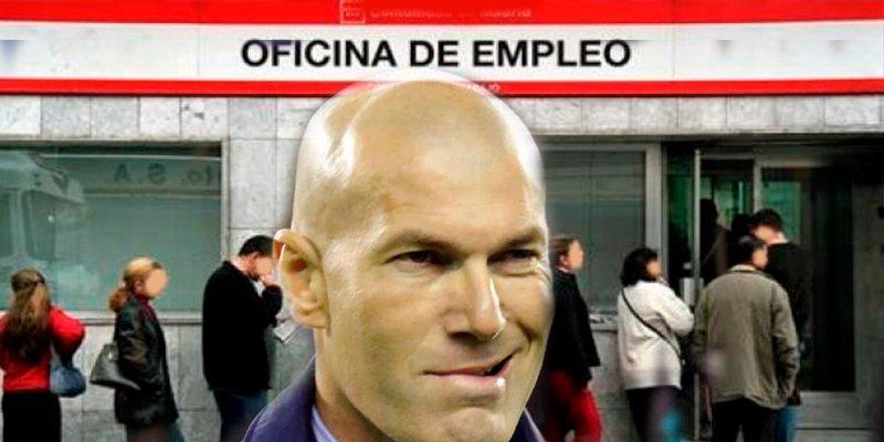 Los números que acercan a Zidane a la cola del paro