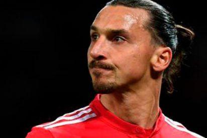 Ibrahimovic quiere pirarse del United y el Madrid parece una buena opción como destino