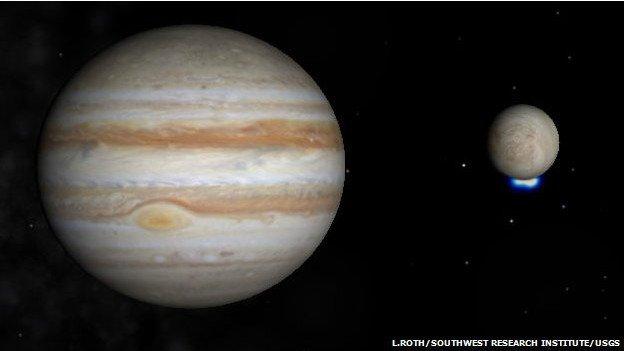 La nave Juno capta patrones de nubes en el polo sur del Planeta Júpiter