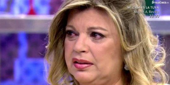 Terelu Campos se larga de 'Sálvame' tras recibir noticias sobre su madre