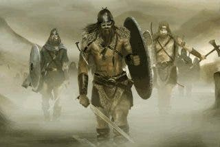 Encuentran una gigantesca fosa común de guerreros vikingos muertos en Inglaterra