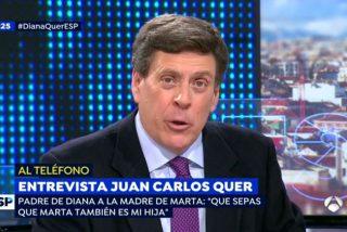 Juan Carlos Quer toma medidas contra un tuitero que hizo apología del asesinato de Diana