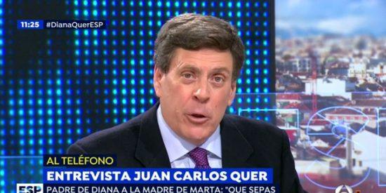 Juan Carlos Quer empapela a un tuitero que hizo apología del asesinato de Diana
