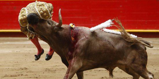 Espantosa cornada al torero David Martínez en la Feria de Medellín