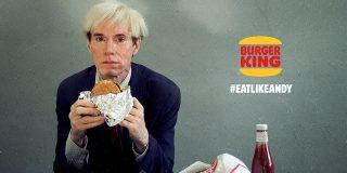 Andy Warhol y la hamburguesa