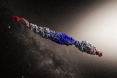 Así es Oumuamua, el violento asteroide cigarro'