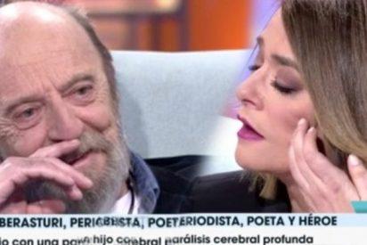 Aberasturi hace llorar a Toñi Moreno