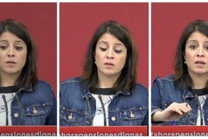 ¡Vaya Adriana 'Lastre' que tiene el PSOE! Se entera de la muerte de un ertzaina en Bilbao con 12 horas de retraso