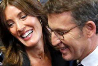 Alberto Núñez Feijóo y Eva Cárdenas y su primer año de padres entre Coruña y Santiago