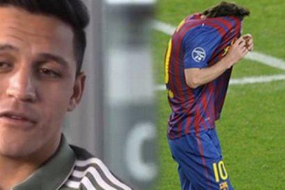 Alexis Sánchez cuenta la primera vez que vio llorar a Messi