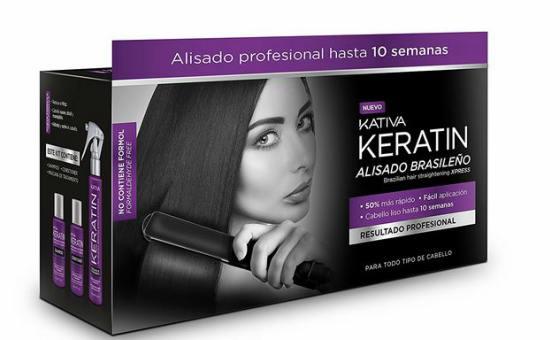 Kativa Xpress Tratamiento Alisado Brasileño de Queratina