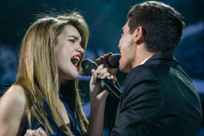 Amaia y Alfred cierran su primer concierto fuera de la gira de 'OT'