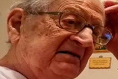 La respuesta ordinaria de este anciano al descubrir que tiene 98 años lo peta en las redes