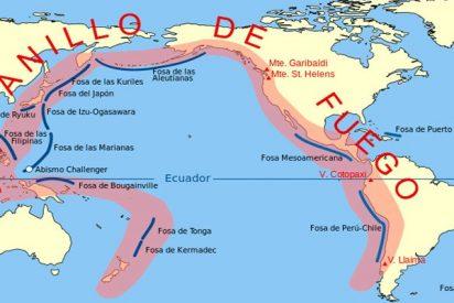 Los movimientos de placas en el Anillo de Fuego hacen temer una catástrofe planetaria
