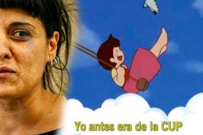 Andreu Buenafuente se descojona con esta canción de la irreconocible Anna Gabriel
