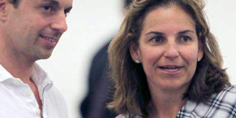 Los abogados de Arantxa Sánchez Vicario no defenderán a su marido frente al Banco de Luxemburgo
