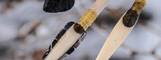 Así de afiladas y letales eran las armas de los cazadores de hace 14.000 años