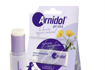 Arnidol Gel Stick, la barrita que calma, suaviza y da sensación de bienestar