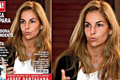 El caradura Santacana retira la demanda de divorcio y llega a un acuerdo con Arantxa Sánchez Vicario
