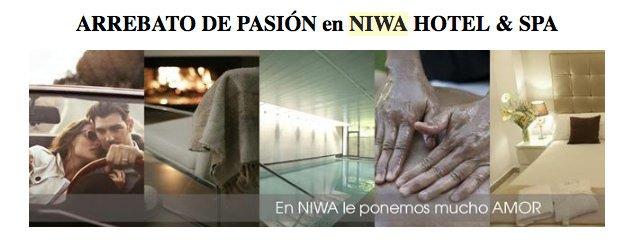 ¡Arrebato de Pasión! en Niwa Hotel&Spa