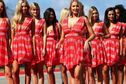 """Azafata de Fórmula 1: """"Por culpa de esas feministas hemos perdido nuestro trabajo"""""""