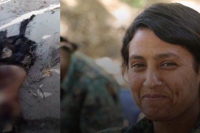 Las espantosas imágenes de una combatiente kurda torturada y mutilada por el Ejército de Turquía