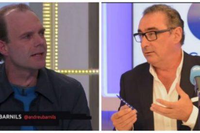 """Herrera despelleja a la racista TV3 y hunde al """"cretino"""" acosador de Arrimadas"""