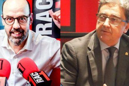 Los 'catabatasunos' insultan y amenazan a Enric Millo y de paso, señalan al periodista Jordi Basté por el imperdonable delito de entrevistarlo