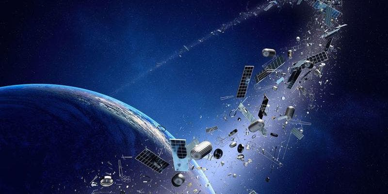 Basura espacial: hay ya más de 18.000 objetos orbitando la Tierra