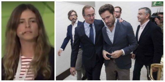 Una joven de NNGG desata el pánico en el PP con una valiente intervención sobre la figura de Gregorio Ordóñez