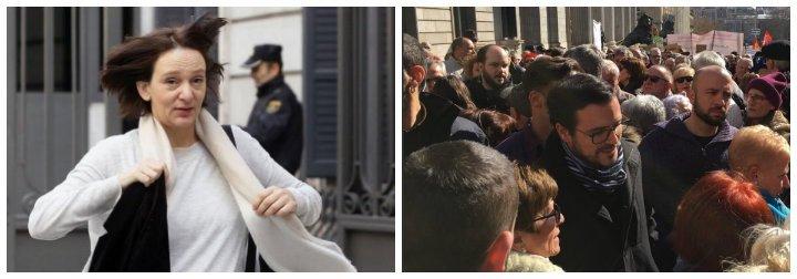 Los principios de 'Groucho Marx' de Podemos: de despreciar a los jubilados a hacerse la foto con ellos