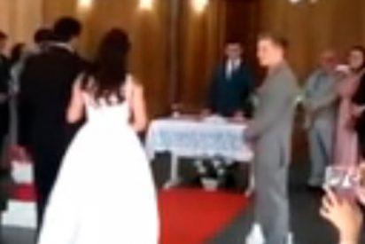 Estos gemidos sexuales 'joden' una boda en Brasil