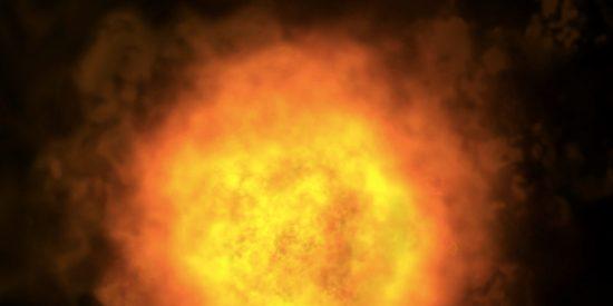 Cunde el pánico en Reino Unido por una gran bola de fuego que podría estar motivada por un accidente aéreo