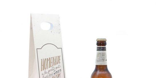 Bébete la cerveza con más estilo del mercado: ¡Brutus The Beer!
