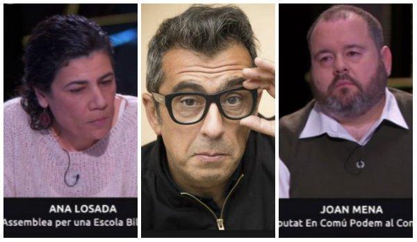 """Un programa producido por Buenafuente aplaude los insultos a una defensora del castellano: """"¡Extremista y ultra!"""""""