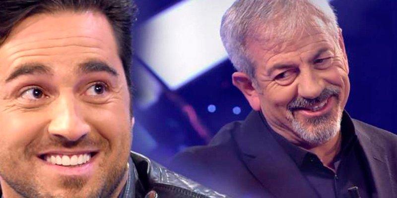 Bustamante y Carlos Sobera se pican en Telecinco