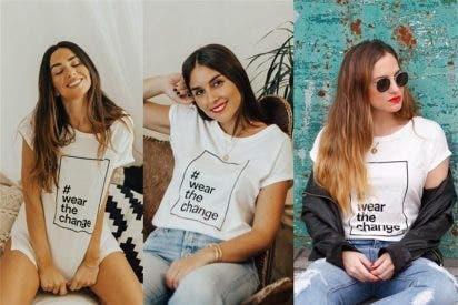 Wear de Change, las influencers se unen por una buena causa