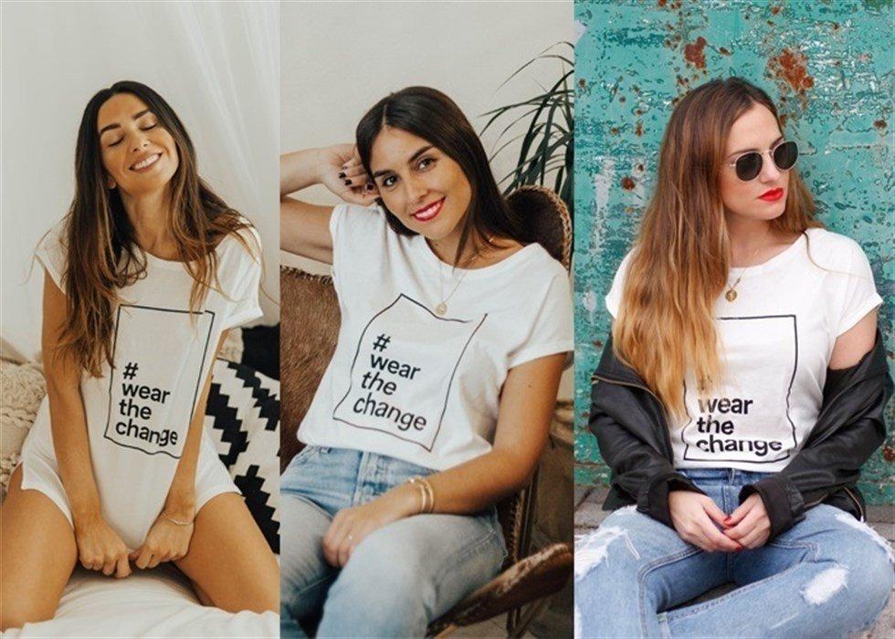 Wear de Change, las influencers se unen por una buena causa