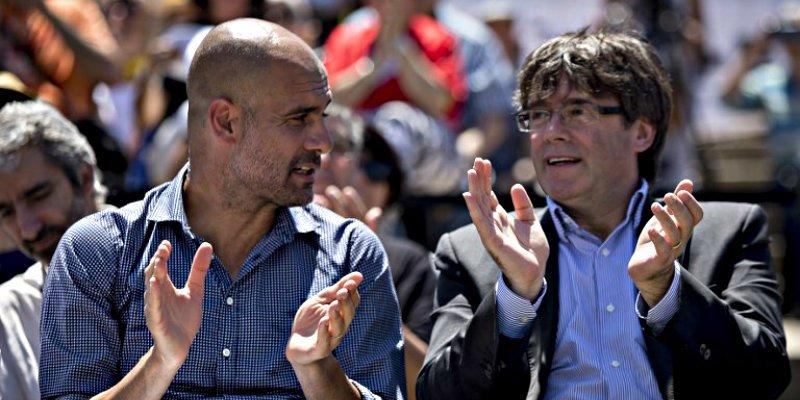La Guardia Civil registró el avión privado del independentista Guardiola en busca de Puigdemont