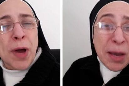 """Twitter acribilla a la monja Sor Lucía Caram por pedir el cierre de 'Crónica Global' al grito de """"basura"""""""