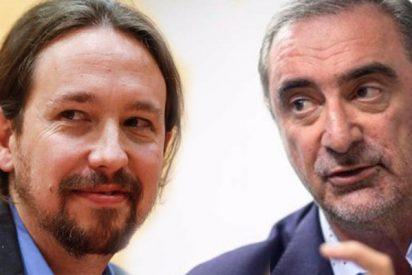 Carlos Herrera deja con el culo al aire a Pablo Iglesias con la letra del cantante al que defiende