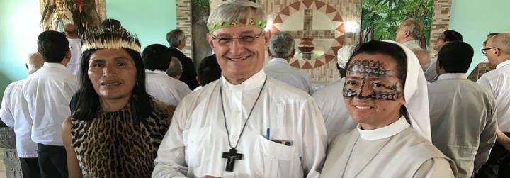 Las comunidades de Sucumbíos piden al Nuncio que vuelvan los carmelitas