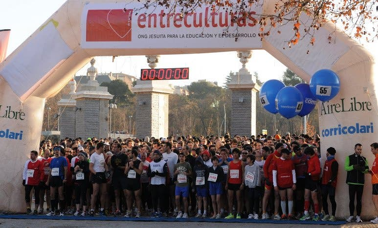 Éxito de la carrera solidaria de Entreculturas