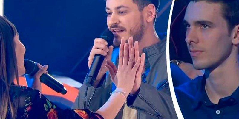 Cepeda cambia la letra de su canción para declararle su amor a Aitana en presencia de su novio
