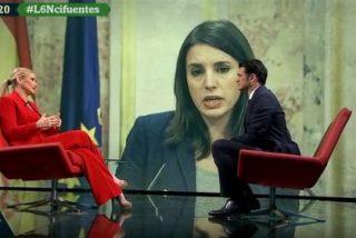 """Cristina Cifuentes masacra a la 'locuaz' Irene Montero: """"Lo de 'portavoza' es una chorrada descomunal"""""""