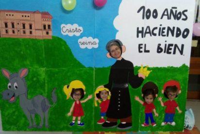 El colegio Cristo Rey de Las Rozas celebra el centenario de su fundador, el padre José Gras