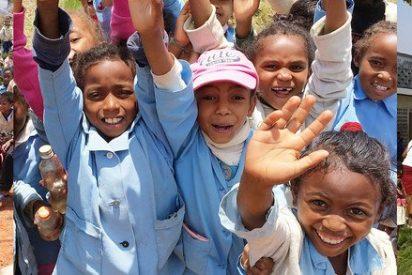 Donación de columpios desde Europa para la misión salesiana de Bemaneviky, en Madagascar